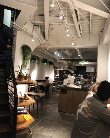 ライトハウス コーヒーの店内