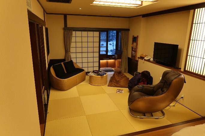ぬくもりの宿 ふる川の客室