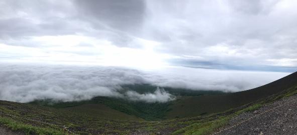 樽前山の雲海