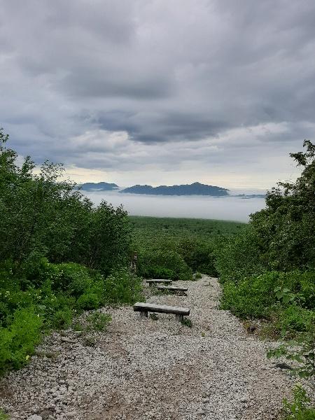 樽前山の見晴台