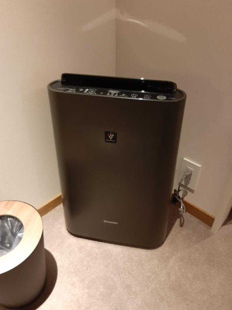 ザノット札幌の空気清浄機