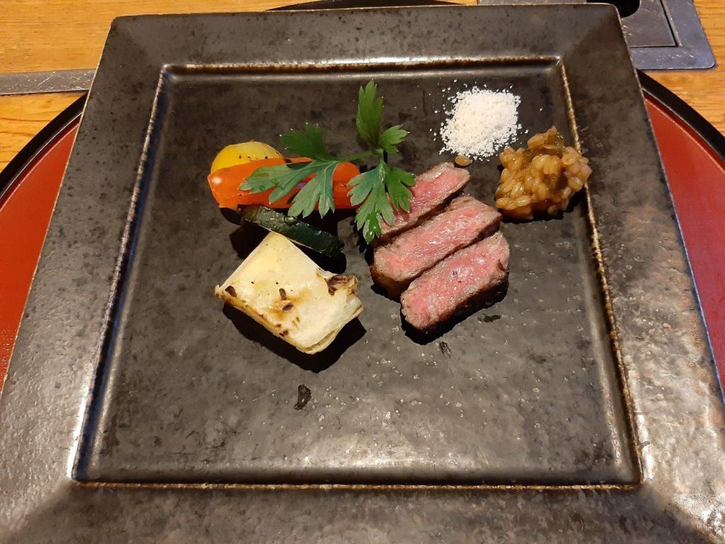 定山渓第一寶亭留 翠山亭の夕食