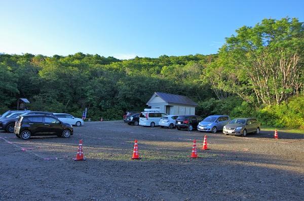 樽前山の7合目駐車場