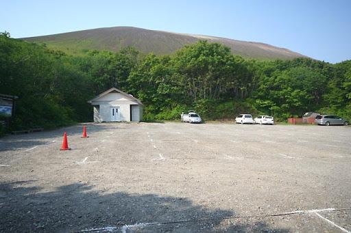 樽前山のトイレ