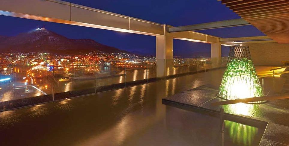 センチュリーマリーナ函館の露天風呂