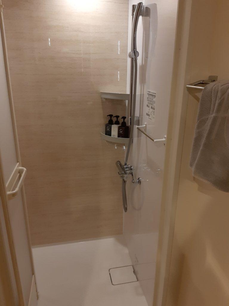 センチュリーマリーナ函館のシャワールーム