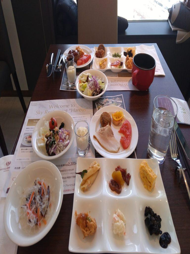エミシア札幌の料理