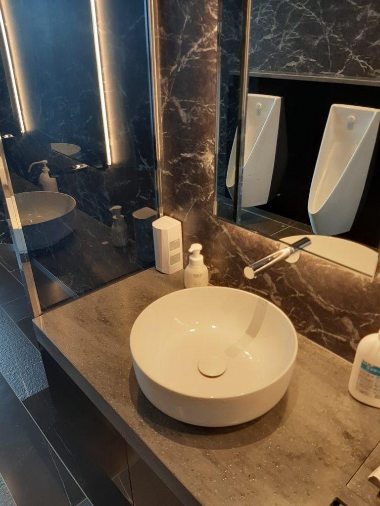 エミシア札幌のトイレ