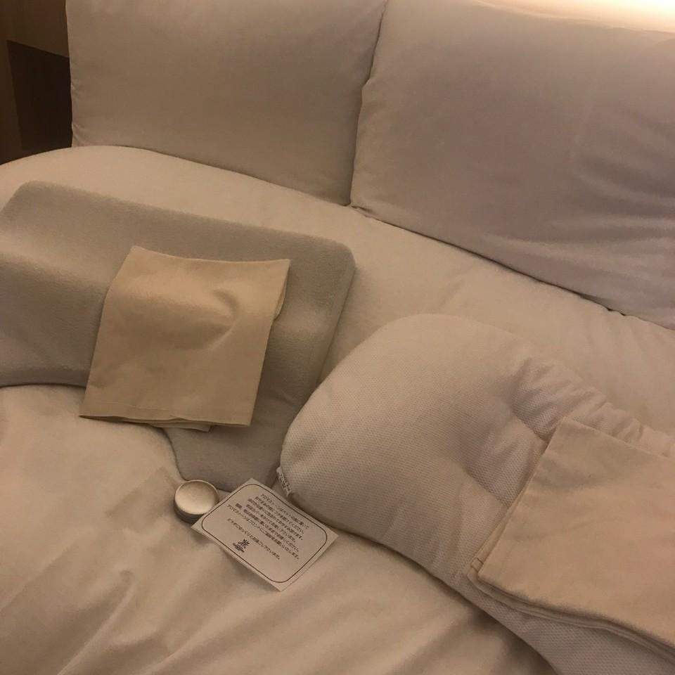 センチュリーマリーナ函館の枕