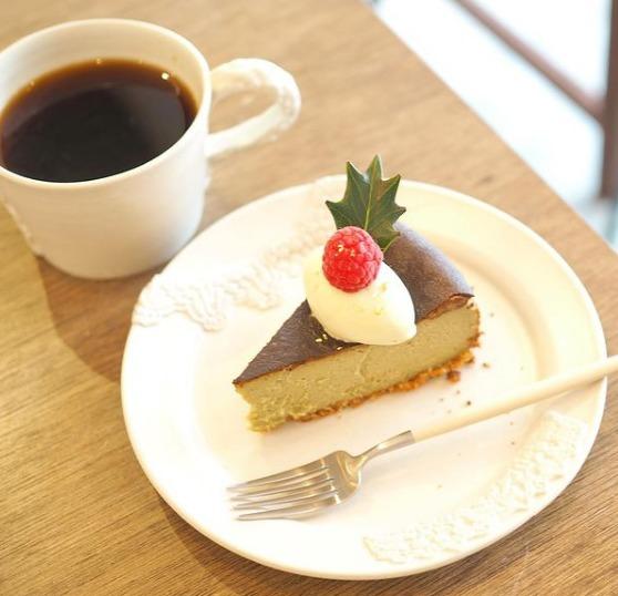 アレイカフェのチーズケーキ