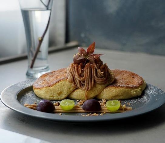 エニーカフェのパンケーキ