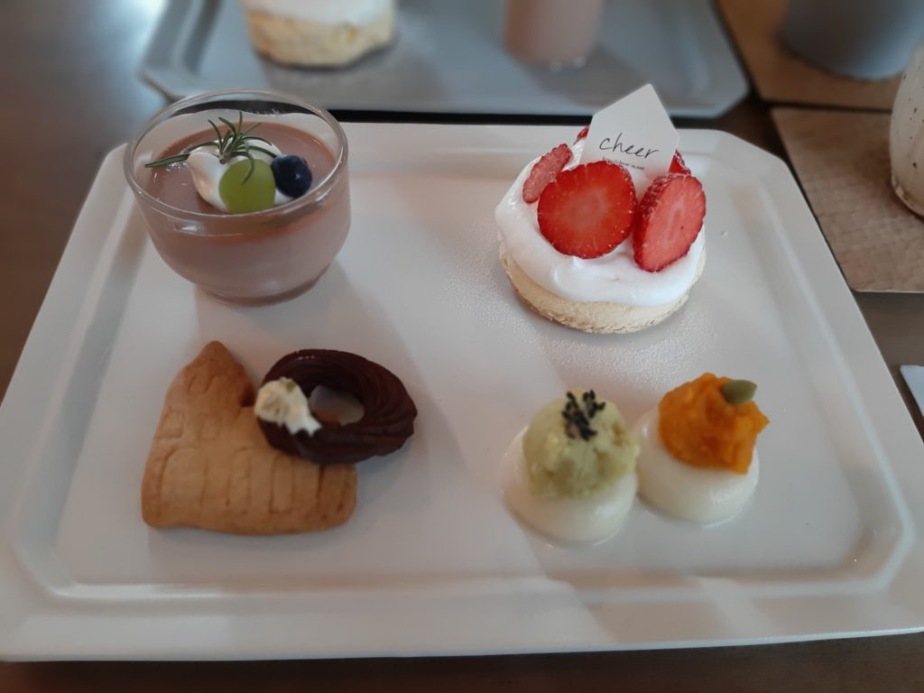cheer cafeの料理
