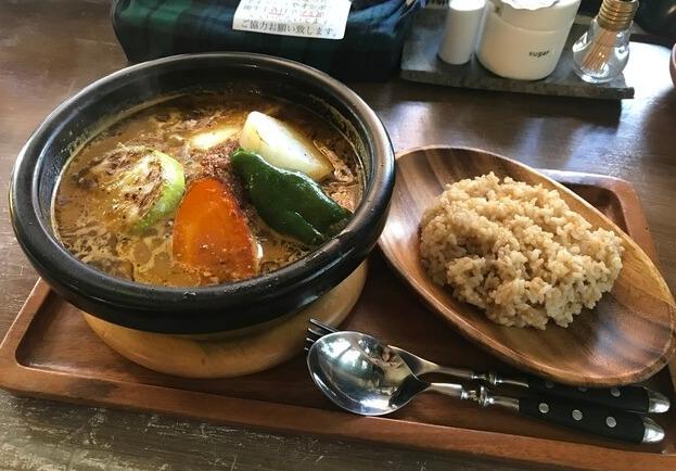 ジーカフェの土鍋スープカレー