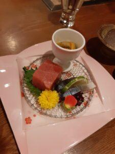 丸駒温泉の夕食
