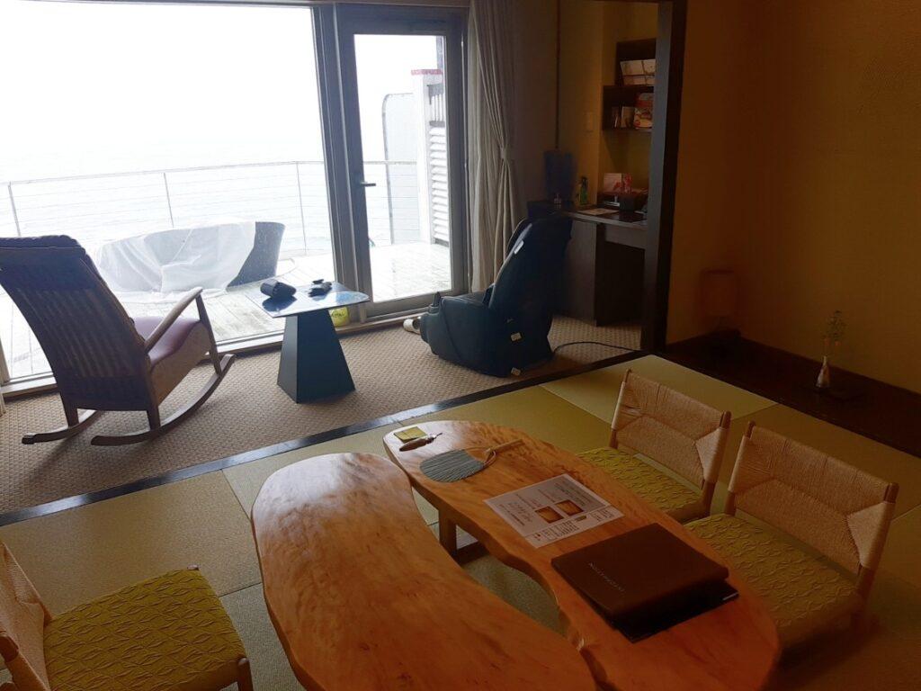 白老の海の別邸ふる川のお部屋