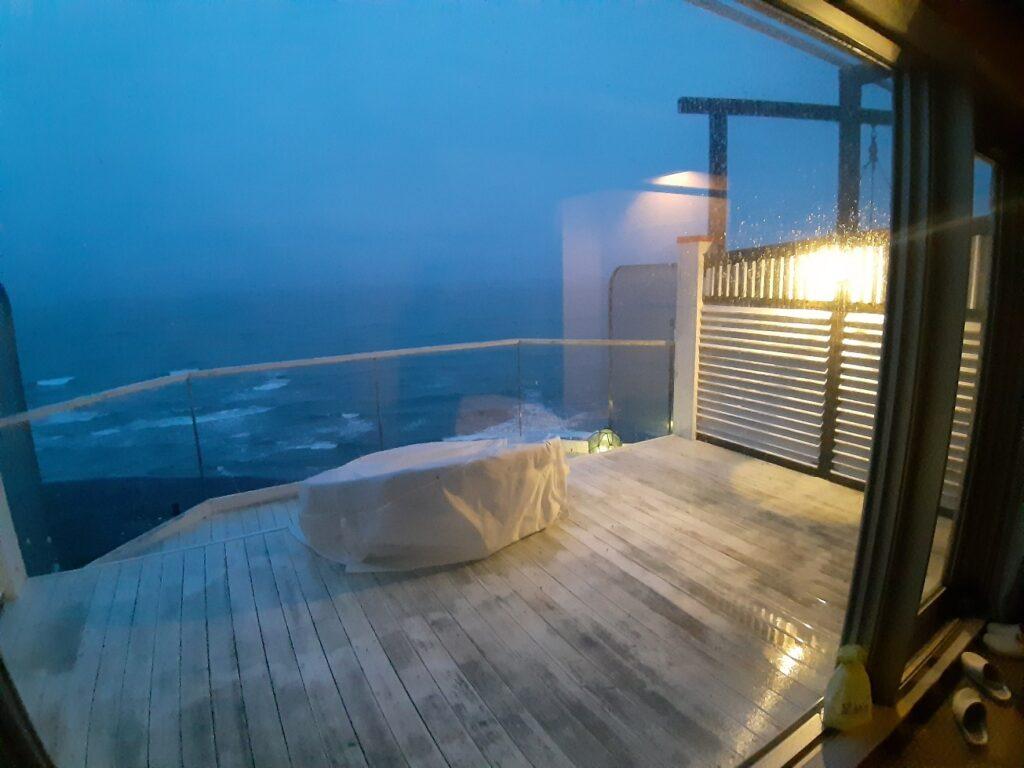白老の海の別邸ふる川の部屋