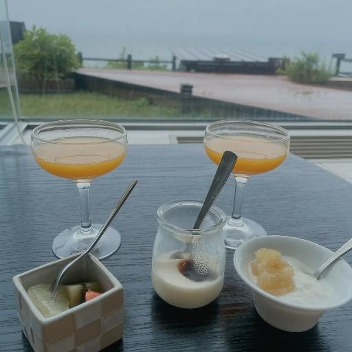 白老の海の別邸ふる川 の朝食