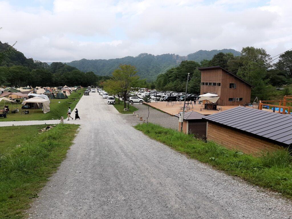白老キャンプフィールドASOBUBAの全体