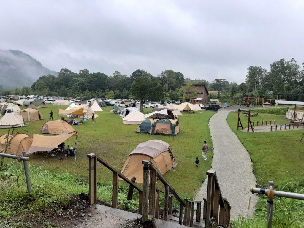 白老キャンプフィールドASOBUBAのフリーサイト