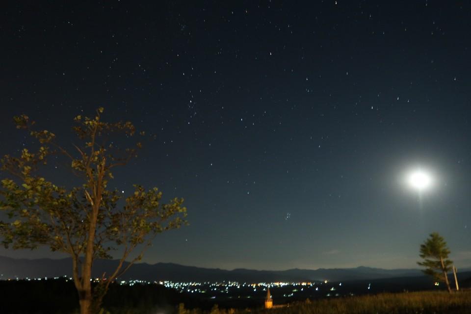岩内オートキャンプ場マリンビューの星空