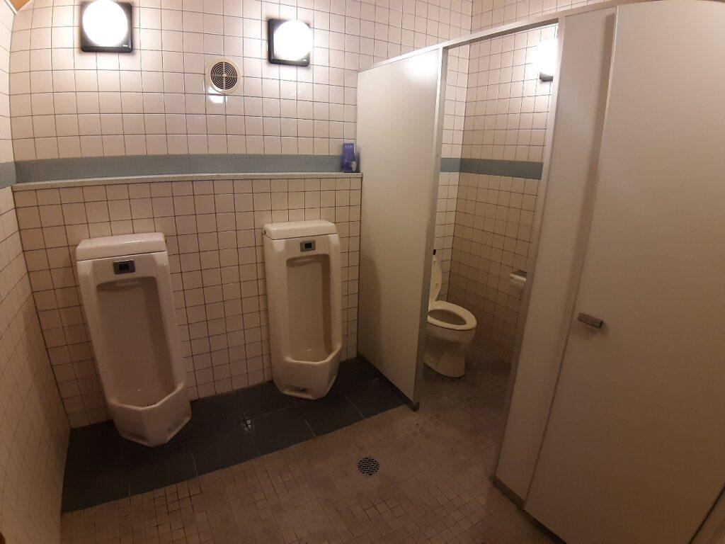 岩内オートキャンプ場マリンビューのトイレ